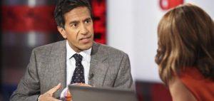Doktor Sanjay Gupta kwestionuje federalny patent na medyczną marihuanę, KonopiaLeczy.com